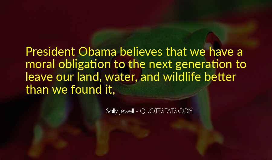 Quotes About Land And Water #1021659