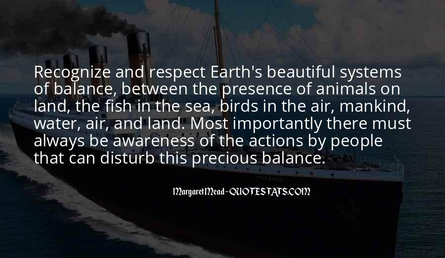 Quotes About Land And Water #1045562