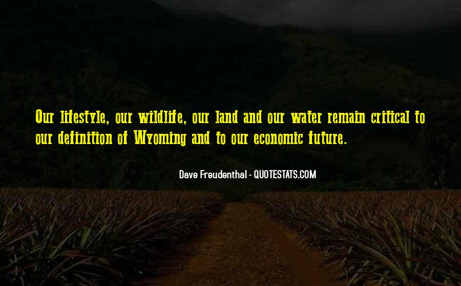 Quotes About Land And Water #1126441
