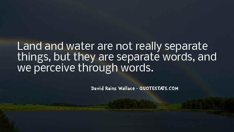 Quotes About Land And Water #1128712
