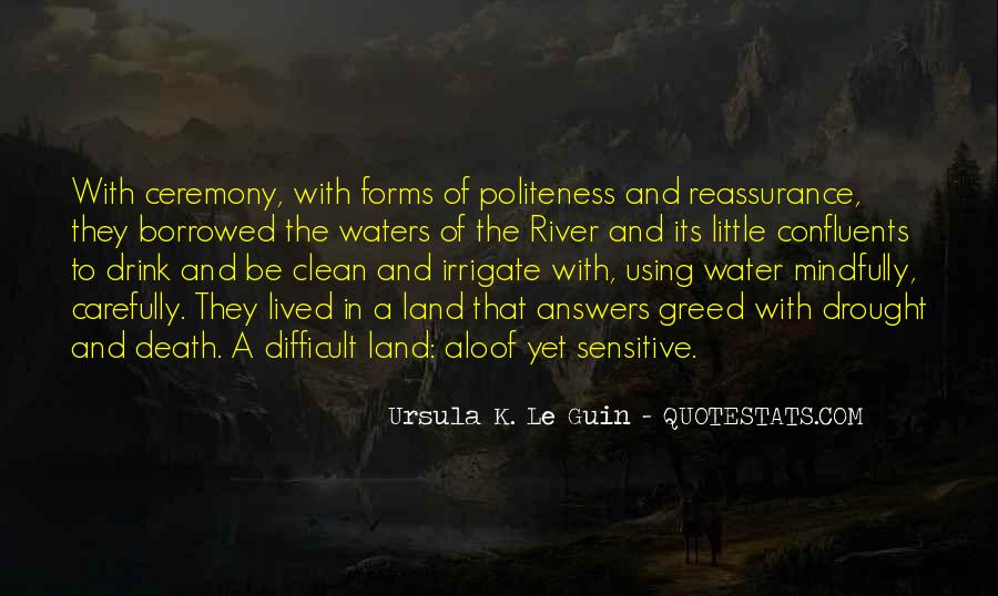 Quotes About Land And Water #1285575