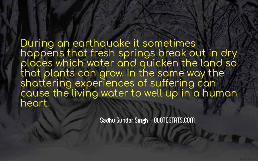 Quotes About Land And Water #1359381