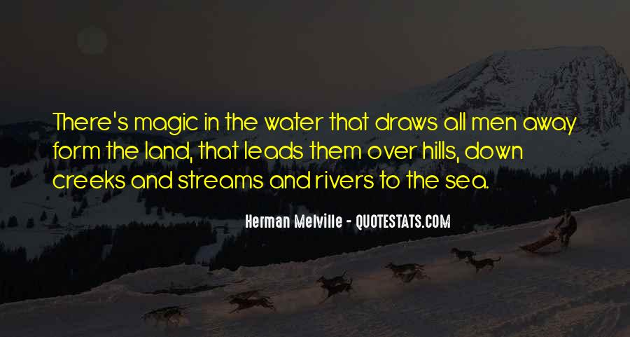 Quotes About Land And Water #1409581