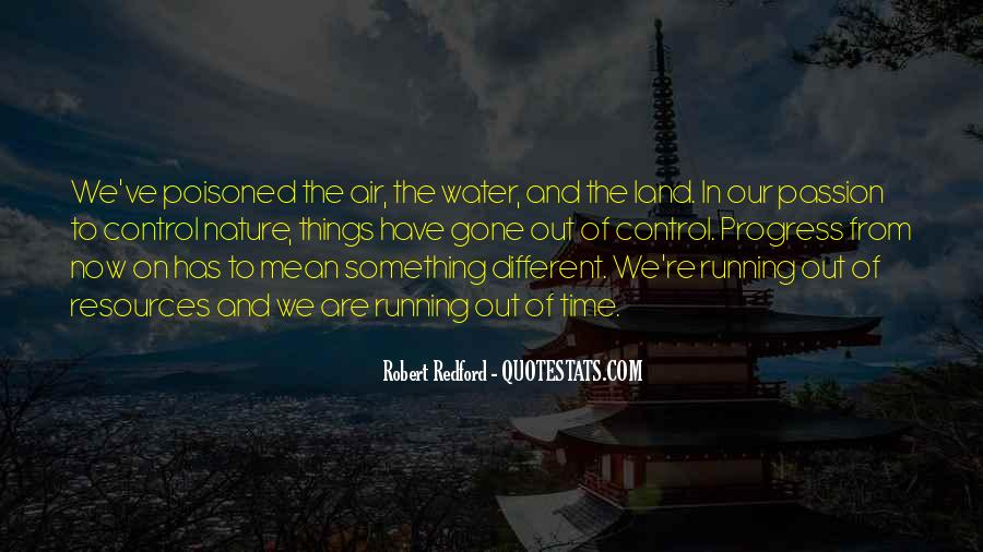 Quotes About Land And Water #142665