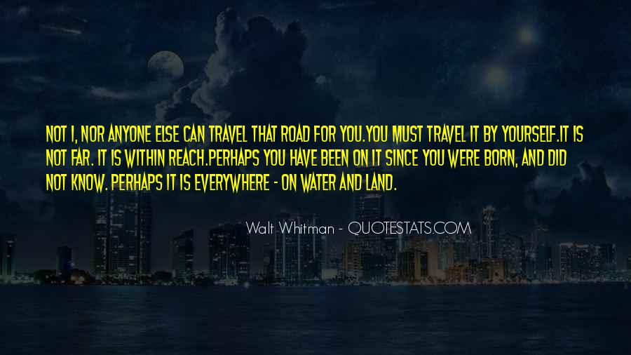 Quotes About Land And Water #1464539