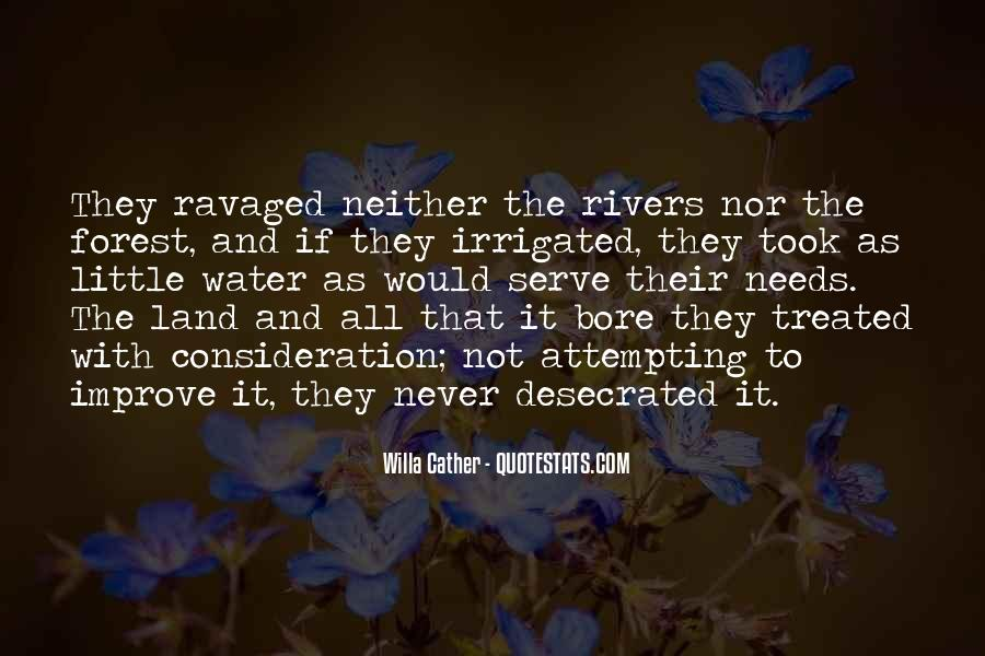 Quotes About Land And Water #1473994