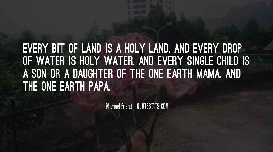 Quotes About Land And Water #245278