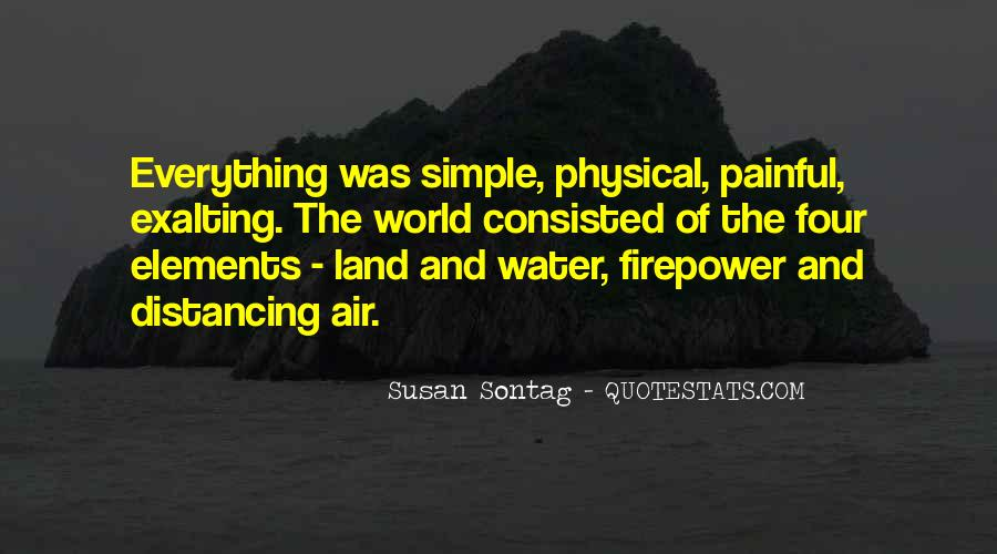 Quotes About Land And Water #336111