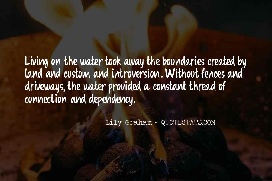 Quotes About Land And Water #362764