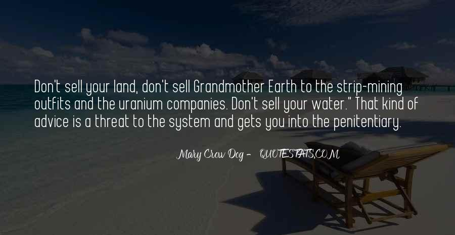 Quotes About Land And Water #456110