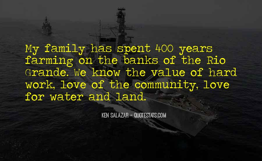Quotes About Land And Water #510217