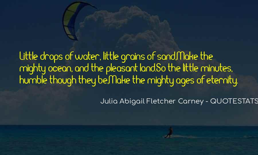 Quotes About Land And Water #528575