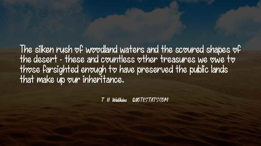 Quotes About Land And Water #595062