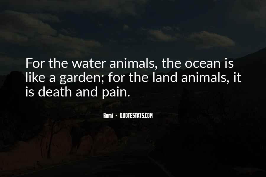 Quotes About Land And Water #669712