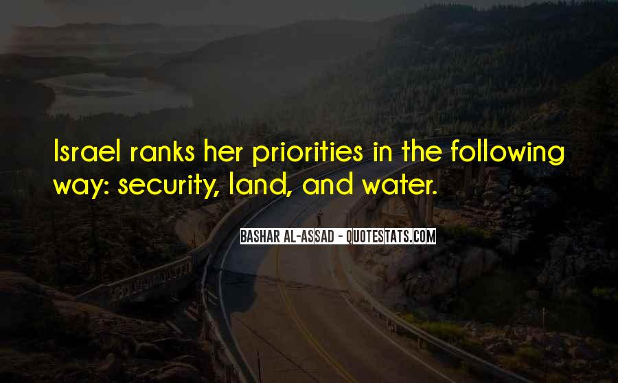 Quotes About Land And Water #903531