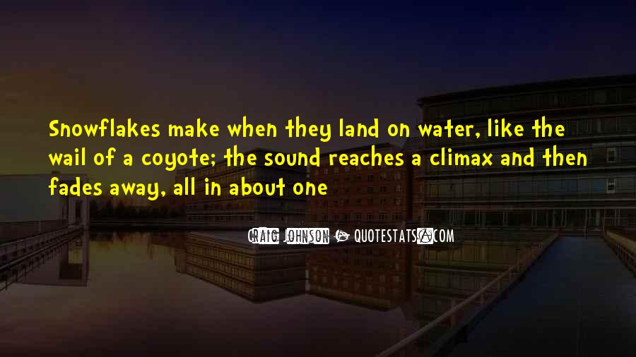Quotes About Land And Water #920085