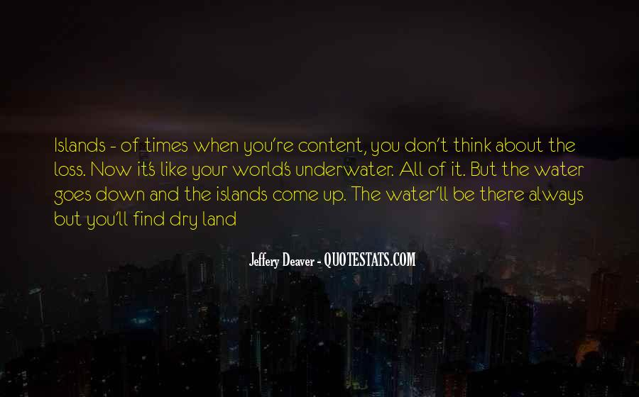 Quotes About Land And Water #998531