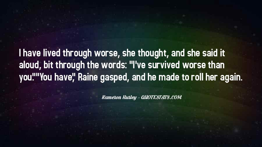 Quotes About Raine #82964