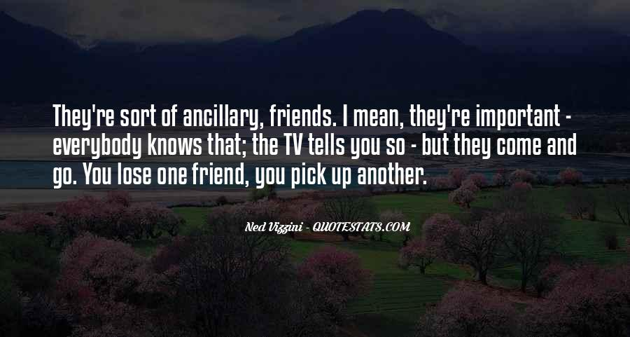 Quotes About Friends That You Lose #71046