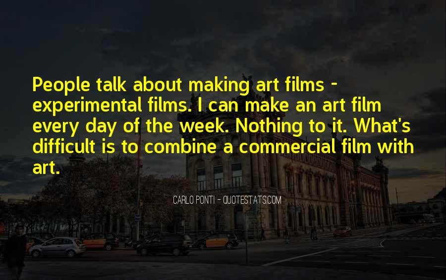 Quotes About Experimental Film #1817920