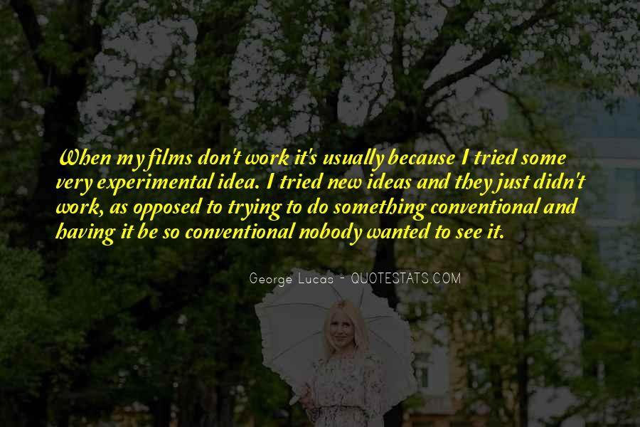 Quotes About Experimental Film #793314