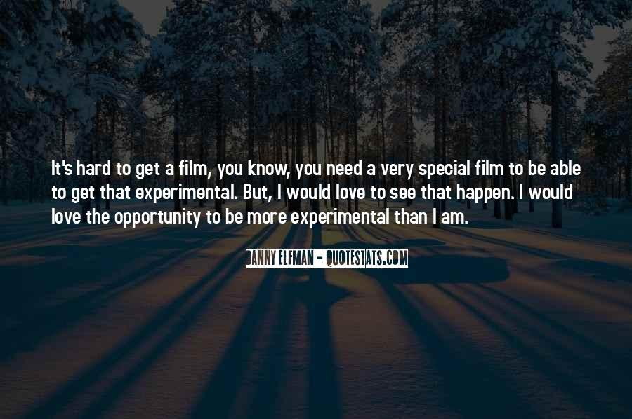Quotes About Experimental Film #830601