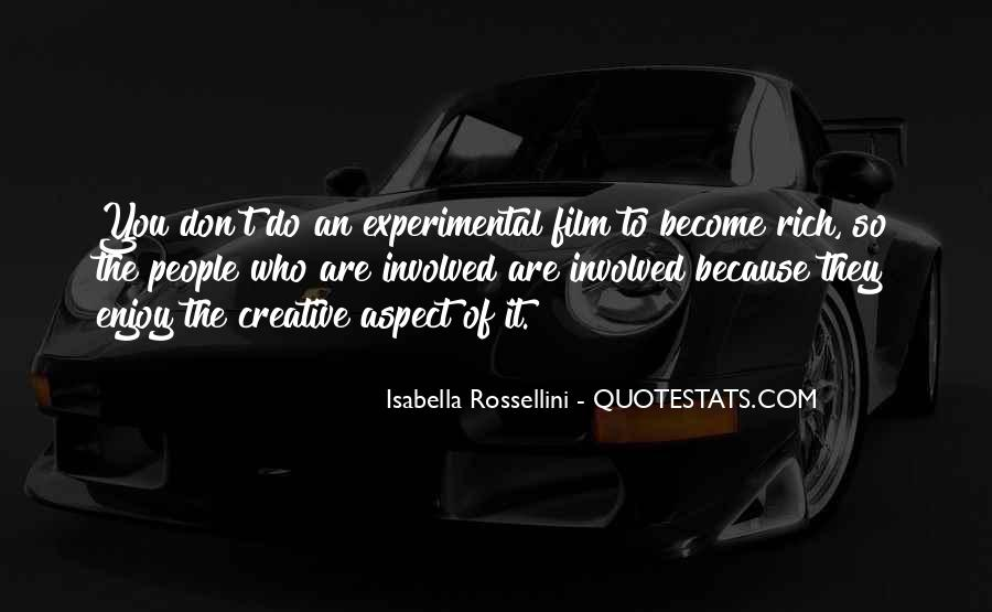 Quotes About Experimental Film #975635