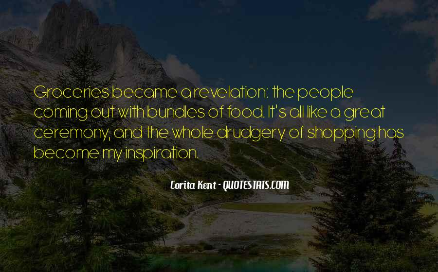 Quotes About Groceries #1161561