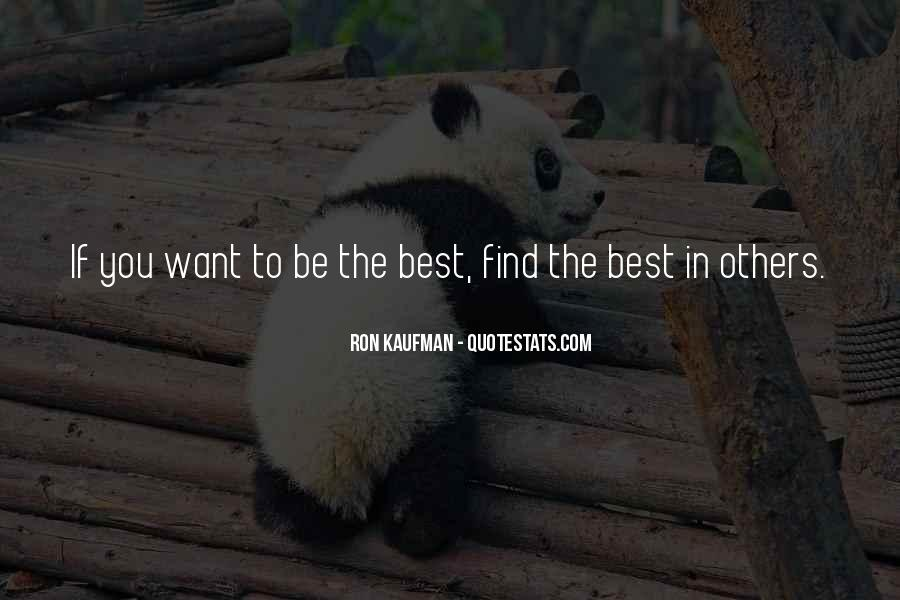 Quotes About Being The Best You #304061