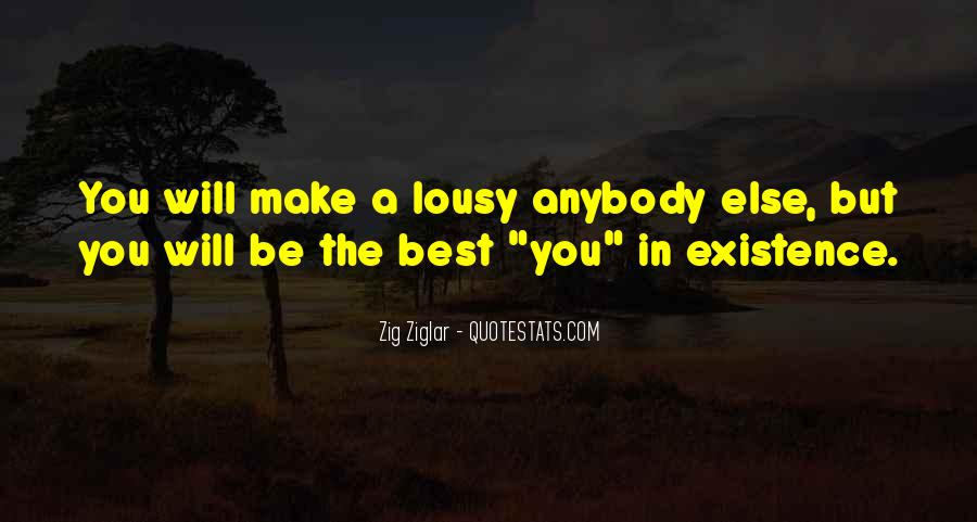 Quotes About Being The Best You #94346