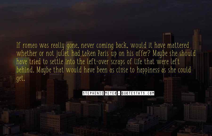 Quotes About Juliet And Paris #1287670