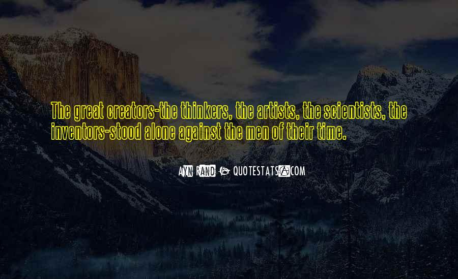 Quotes About Great Scientists #1110455