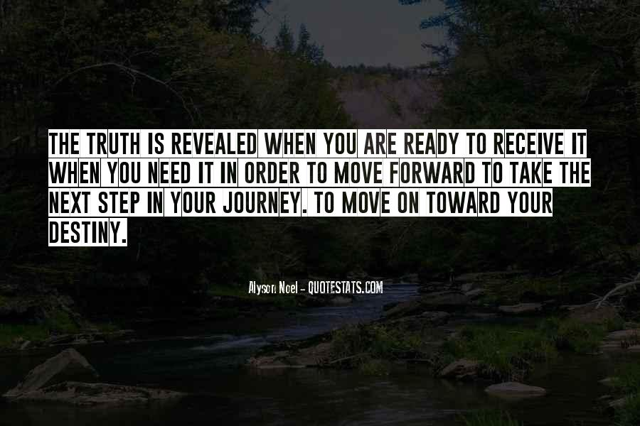 Quotes About Not Ready To Move On #574982