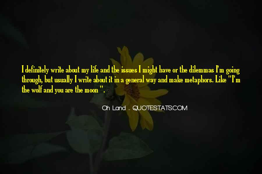 Quotes About Writing And Life #100142