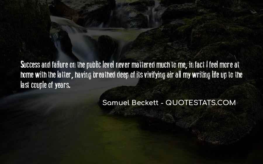 Quotes About Writing And Life #103915