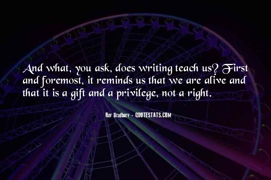 Quotes About Writing And Life #104391