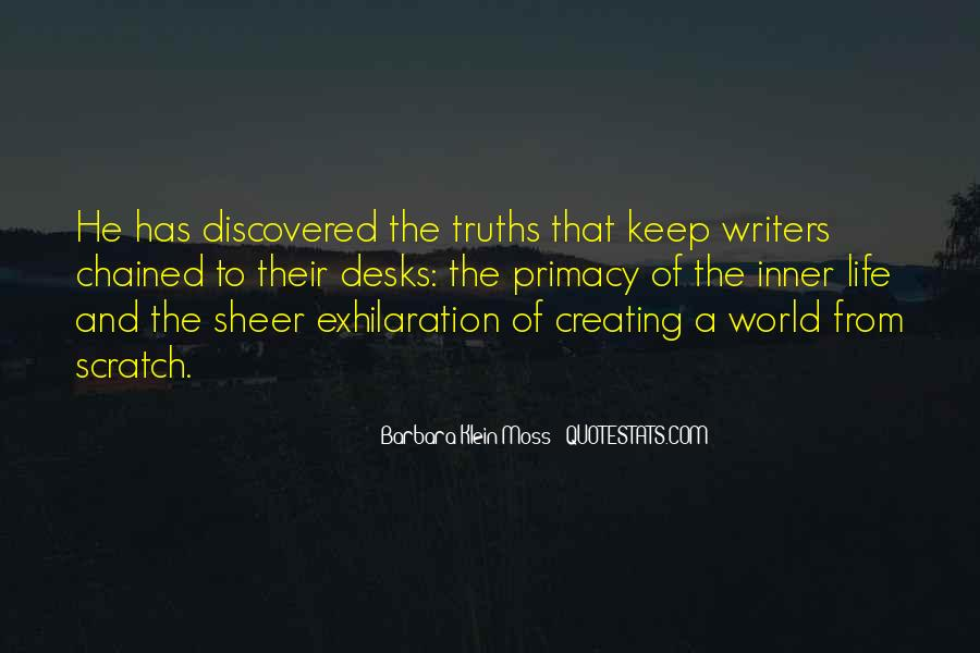 Quotes About Writing And Life #106262