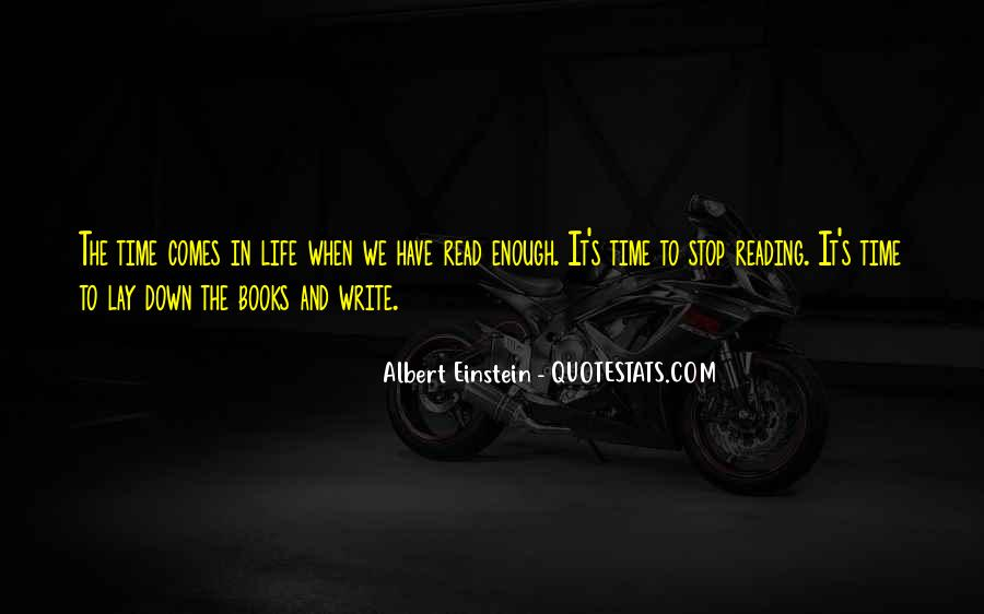 Quotes About Writing And Life #16058