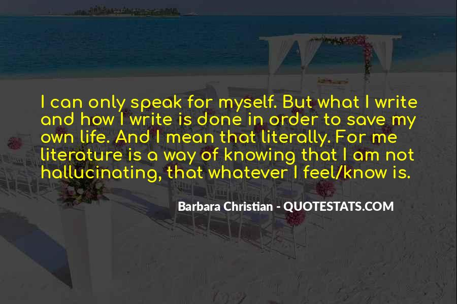 Quotes About Writing And Life #29410
