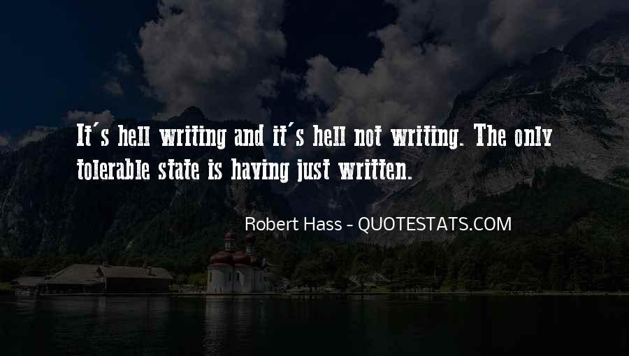 Quotes About Writing And Life #40479