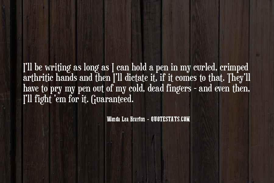 Quotes About Writing And Life #45977