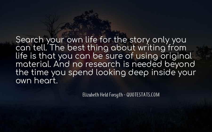 Quotes About Writing And Life #69961