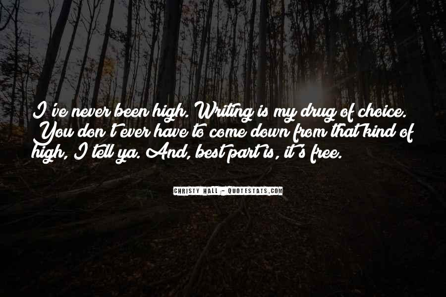 Quotes About Writing And Life #70299