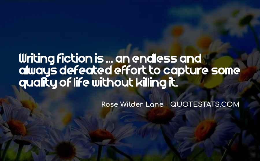 Quotes About Writing And Life #71489