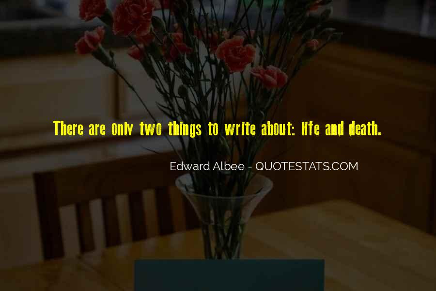 Quotes About Writing And Life #85024