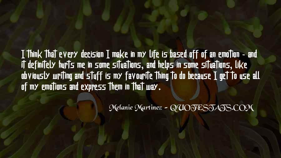 Quotes About Writing And Life #85675
