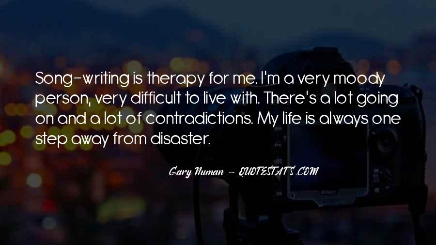 Quotes About Writing And Life #91615