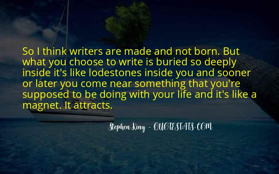 Quotes About Writing And Life #96132