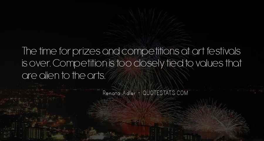 Quotes About Art Festivals #1424979