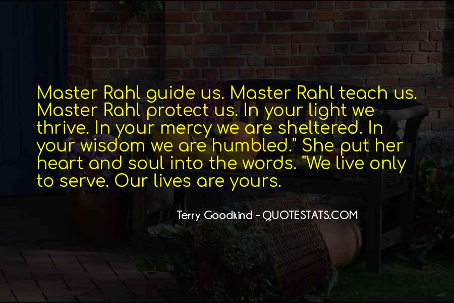 Quotes About Rahl #912142